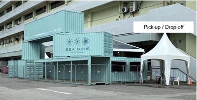SEA Focus Dropoff point